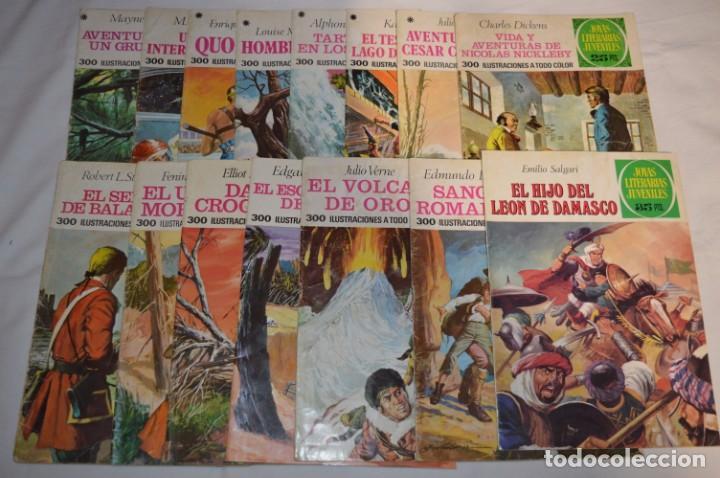 LOTE 01 VARIADO - 15 COMICS BRUGUERA - JOYAS LITERARIAS JUVENILES - ¡MIRA LAS FOTOS! (Tebeos y Comics - Bruguera - Joyas Literarias)