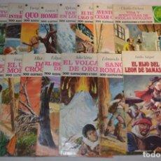 Tebeos: LOTE 01 VARIADO - 15 COMICS BRUGUERA - JOYAS LITERARIAS JUVENILES - ¡MIRA LAS FOTOS!. Lote 227078725