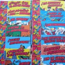 Tebeos: COMIC-9. CAPITAN TRUENO. 23 CUADERNOS COLECCIÓN DAN. REEDICIÓN AÑOS 70. EDIT.BRUGUERA.DIBUJOS AMBROS. Lote 227091985