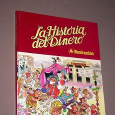 Livros de Banda Desenhada: MORTADELO Y FILEMÓN EN LA HISTORIA DEL DINERO. FRANCISCO IBÁÑEZ. BRUGUERA, BANKUNIÓN, 1980.. Lote 227226275