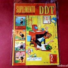 Tebeos: SUPLEMENTO DE HISTORIETAS EL DDT Nº 9 -IMPECABLE ESTADO. Lote 227240880