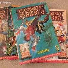 Livros de Banda Desenhada: EL CORSARIO DE HIERRO. EDICIÓN HISTÓRICA. COLECCIÓN COMPLETA. Lote 227280655