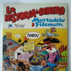 Livros de Banda Desenhada: MORTADELO Y FILEMON LA HISTORIA DEL DINERO. Lote 227581825