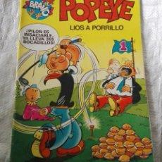 Tebeos: POPEYE Nº 4 - LÍOS A PORRILLO. Lote 227752045