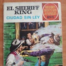 BDs: 1ª EDICIÓN EL SHERIFF KING - CIUDAD SIN LEY / GRANDES AVENTURAS Nº 18. Lote 227757480