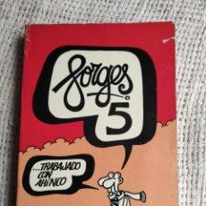 Tebeos: FORGES TOMO 5 MEMORIAS - EDITA - BRUGUERA 1981. Lote 227884495