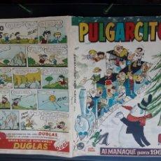BDs: PULGARCITO, ALMANAQUE 1964, DE 6 PTS. CON GUILLERMO TELL. Lote 227957820
