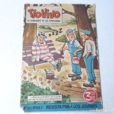Tebeos: TIO VIVO Nº 165 2º EPOCA - EL SEMANARIO DE LAS CARCAJADAS - ED. BRUGUERA AÑO 1964. Lote 228086820