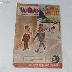 Tebeos: ANTIGUO COMIC TIO VIVO EL SEMANARIO DE LAS CARCAJADAS AÑO VII Nº 162 2ª EPOCA AÑO 1964 ED. BRUGUERA. Lote 228104322