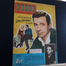 Tebeos: SISSI Nº 173 YVES MONTAND, CANTINFLAS 1961 REVISTA JUVENIL FEMENINA. Lote 228154148