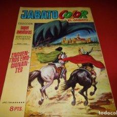 Tebeos: JABATO COLOR Nº 121 - BRUGUERA. Lote 228336125