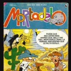 Tebeos: MORTADELO (SUPER) - BRUGUERA / NÚMERO 253. Lote 228345665