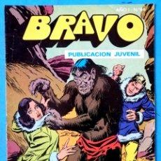 Tebeos: BRAVO PUBLICACIÓN JUVENIL Nº 64 - INSPECTOR DAN Nº 32 - TERROR BAJO LOS HIELOS - BRUGUERA 1978. Lote 228368930