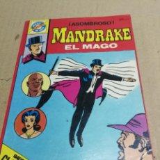 Tebeos: SERIE CLÁSICOS POCKET DE ASES 33. MANDRAKE EL MAGO (LEE FLAK) BRUGUERA, 1983.. Lote 228395670