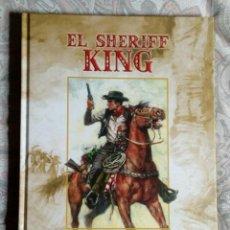 BDs: EL SHERIFF KING -VÍCTOR MORA Y F. DÍAZ- EDICINES B - VOLUMEN1. Lote 228431000