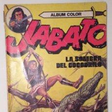 Tebeos: JABATO 1980 VOLUMEN 9: LA SOMBRE DEL COCODRILO (CUARTA EDICIÓN). Lote 228439585
