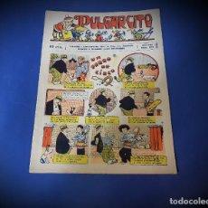 Tebeos: PULGARCITO Nº 369 -ORIGINAL -EXCELENTE ESTADO. Lote 228466990