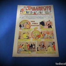 Tebeos: PULGARCITO Nº 366 -ORIGINAL -EXCELENTE ESTADO. Lote 228467955