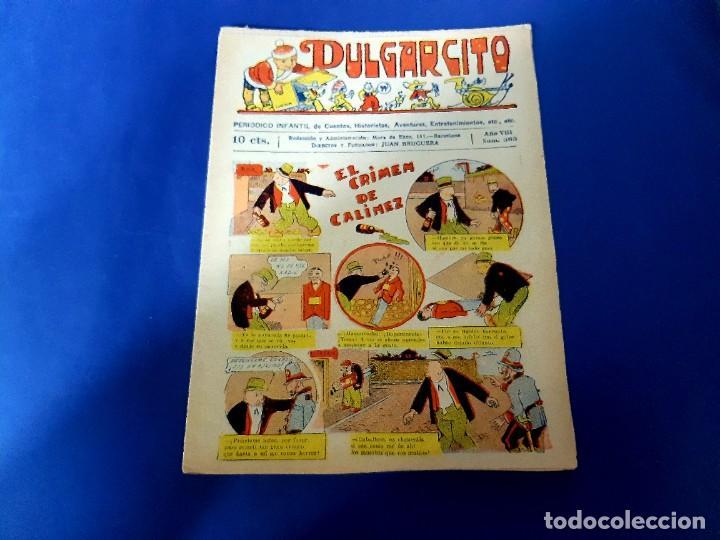 PULGARCITO Nº 365 -ORIGINAL -EXCELENTE ESTADO (Tebeos y Comics - Bruguera - Pulgarcito)