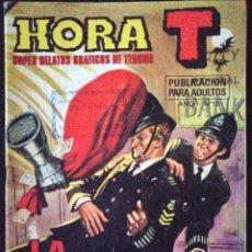 Tebeos: HORA T Nº 12 - LA ZARPA - FIERAS AL ACECHO - BRUGUERA 1975. Lote 228481680