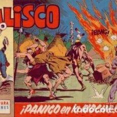 Tebeos: JALISCO-CUADERNILLO SEMANAL-Nº 10 -¡PÁNICO EN LA NOCHE!-1963-J. GONZÁLEZ-CORRECTO-DIFÍCIL-LEA-4125. Lote 228483445