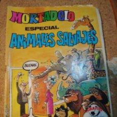 Tebeos: TEBEO DE MORTADELO ESPECIAL ANIMALES SALVAJES DEL AÑO 1982 Nº 130. Lote 228560595