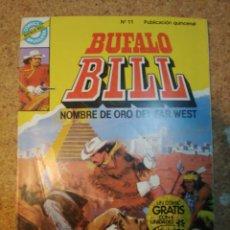 Tebeos: COMIC DE BUFALO BILL EN LA CIUDAD PROHIBIDA DEL AÑO 1985 Nº 11. Lote 228576275