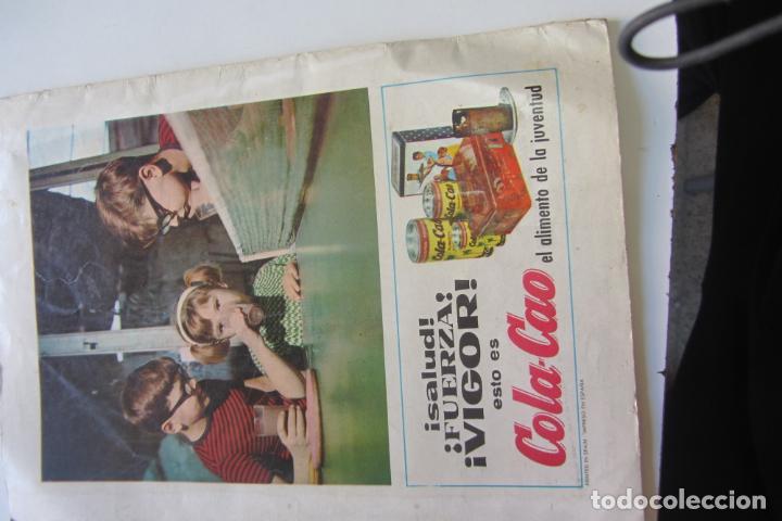 Tebeos: DIN DAN ALMANAQUE 1966 Ed. BRUGUERA dificil arx22 - Foto 3 - 228626145