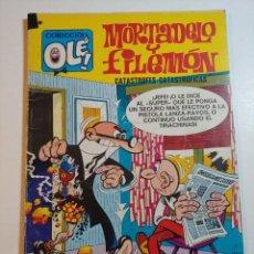 Tebeos: COMIC DE OLE MORTADELO Y FILEMON EN CATASTROFES CATASTROFICAS DEL AÑO 1978 Nº 88. Lote 228715105