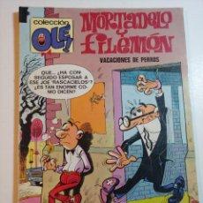 Tebeos: COMIC DE OLE MORTADELO Y FILEMON EN VACACIONES DE PERROS DEL AÑO 1978 Nº 120. Lote 228717805
