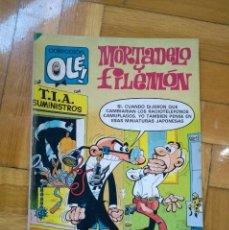 Tebeos: COLECCIÓN OLÉ Nº 215 - MORTADELO Y FILEMÓN - 1ª EDICIÓN 1981 - D4. Lote 228773635