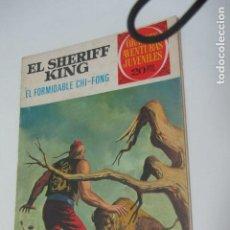 BDs: GRANDES AVENTURAS JUVENILES EL SHERIFF KING Nº 26 EL FORMIDABLE CHI-FONG. BRUGUERA ARX24. Lote 228848315