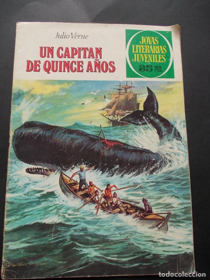 COMIC ED. BRUGUERA. JOYAS LITERARIAS JUVENILES. Nº 101 UN CAPITÁN DE QUINCE AÑOS JULIO VERNE. 1979 (Tebeos y Comics - Bruguera - Joyas Literarias)