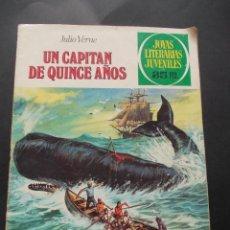 Tebeos: COMIC ED. BRUGUERA. JOYAS LITERARIAS JUVENILES. Nº 101 UN CAPITÁN DE QUINCE AÑOS JULIO VERNE. 1979. Lote 228901440