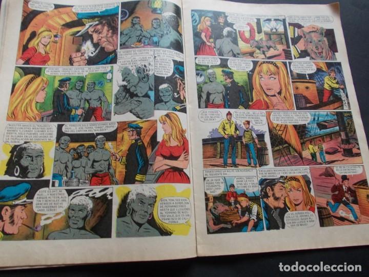 Tebeos: comic ed. bruguera. joyas literarias juveniles. nº 101 Un capitán de quince años Julio Verne. 1979 - Foto 2 - 228901440