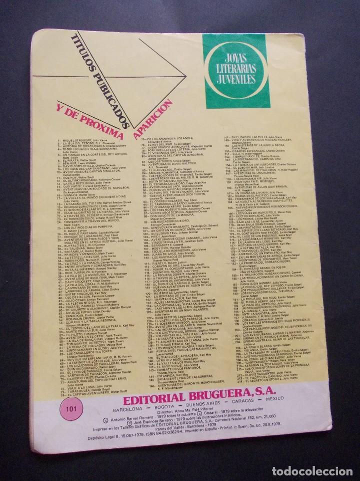 Tebeos: comic ed. bruguera. joyas literarias juveniles. nº 101 Un capitán de quince años Julio Verne. 1979 - Foto 3 - 228901440