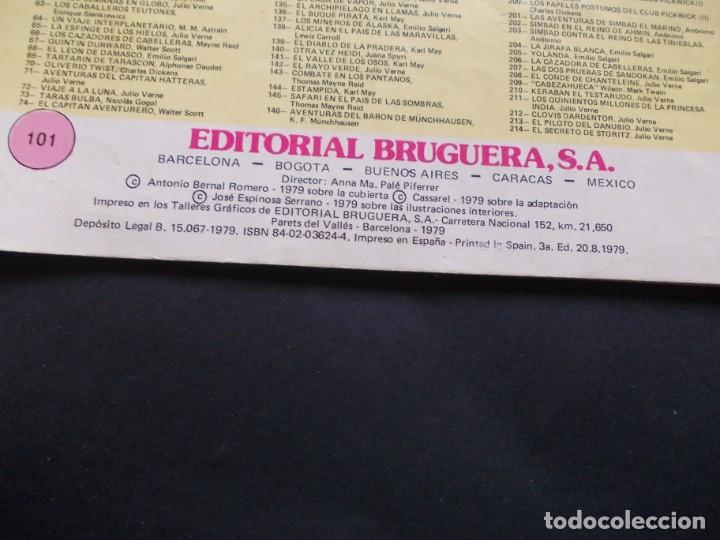 Tebeos: comic ed. bruguera. joyas literarias juveniles. nº 101 Un capitán de quince años Julio Verne. 1979 - Foto 4 - 228901440