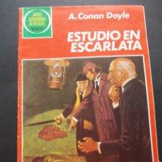 Tebeos: COMIC ED. BRUGUERA. JOYAS LITERARIAS JUVENILES. ESTUDIO EN ESCARLATA. A. CONAN DOYLE 1983. Lote 228902325