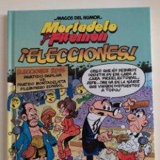Tebeos: MORTADELO Y FILEMÓN - NUM 179 - ¡ ELECCIONES !; F.IBAÑEZ - EDICIONES B, S.A. , 2015. Lote 229106685