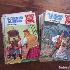 Livros de Banda Desenhada: EL CORSARIO DE HIERRO. JOYAS LITERARIAS JUVENILES SERIE ROJA RESERVADA A RAUL HERRERO ZARZOSA. Lote 229174955