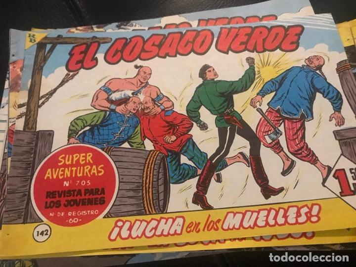 TEBEOS , COLECCIÓN EL COSACO VERDE . AÑO 1.960 - 1.961- 1.962 - 1.963 ( 2 ) (Tebeos y Comics - Bruguera - Cosaco Verde)