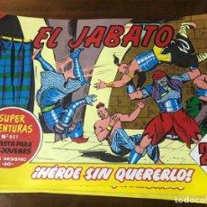 Tebeos: TEBEOS EDICIÓN EL JABATO SÚPER AVENTURAS. Lote 229254560