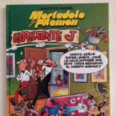 Tebeos: MORTADELO Y FILEMÓN Nº5 -EXPEDIENTE J - CÍRCULO DE LECTORES, 1997. Lote 229403290