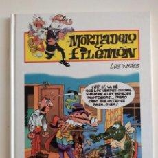 Tebeos: MORTADELO Y FILEMÓN Nº31- LOS VERDES - EDICIONES PLURAL 2000. Lote 229421945