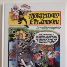 Tebeos: MORTADELO Y FILEMÓN Nº35- LA MALDITA MAQUINITA - EDICIONES PLURAL 2000. Lote 229423505