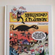 Tebeos: MORTADELO Y FILEMÓN Nº46- DINOSAURIOS - EDICIONES PLURAL 2000. Lote 229427765