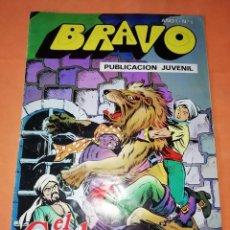 Tebeos: BRAVO. PUBLICACION JUVENIL. Nº 1. EL CACHORRO. BRUGUERA 1976.. Lote 229502540