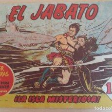 Tebeos: EL JABATO Nº 9. ORIGINAL. BRUGUERA. BUEN ESTADO. Lote 229750185