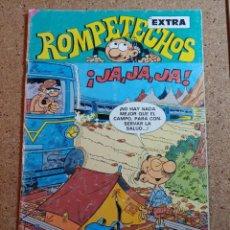 Tebeos: TEBEO DE ROMPETECHOS EXTRA JA JA JA DEL AÑO 1985 Nº 91. Lote 229799355