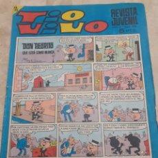 Tebeos: EJEMPLAR DE LA REVISTA JUVENIL TIO VIVO DE 1968. Lote 229841010